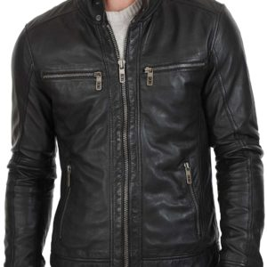 1316965e8 William Black Men Leather Biker Jacket. $183.00 $146.00. 20% OFF
