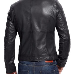 ee6e54584 Andrew Mens Slim fit biker leather jacket. $183.00 $146.00. 20% OFF